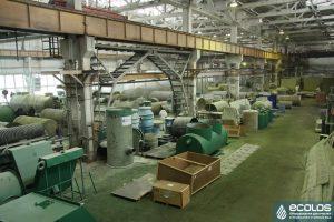 Завод по производству очистных сооружений